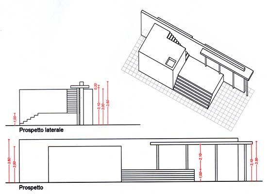 Pianta Architettura Definizione : Disegno mies