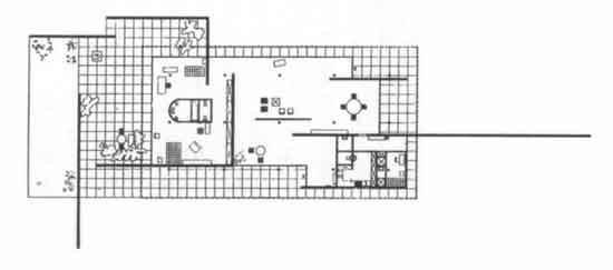 Mies Van Der Rohe Casa Modello Per La Mostra Della