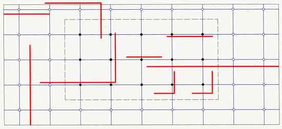 Mies van der rohe progetto di casa modello per la mostra for Progetti di costruzione di case